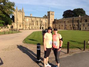 Beautiful Newstead Abbey Dash with Advantage Fitness
